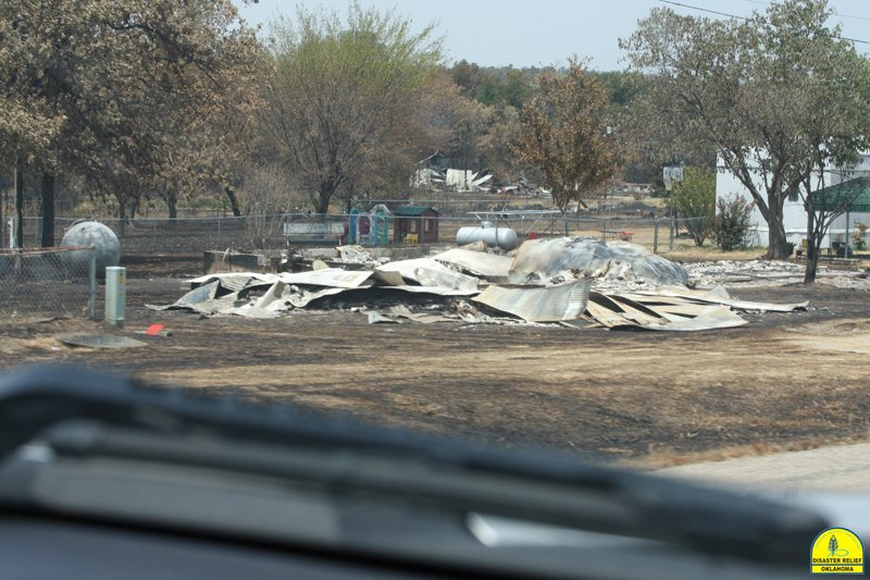 Burned Home 1