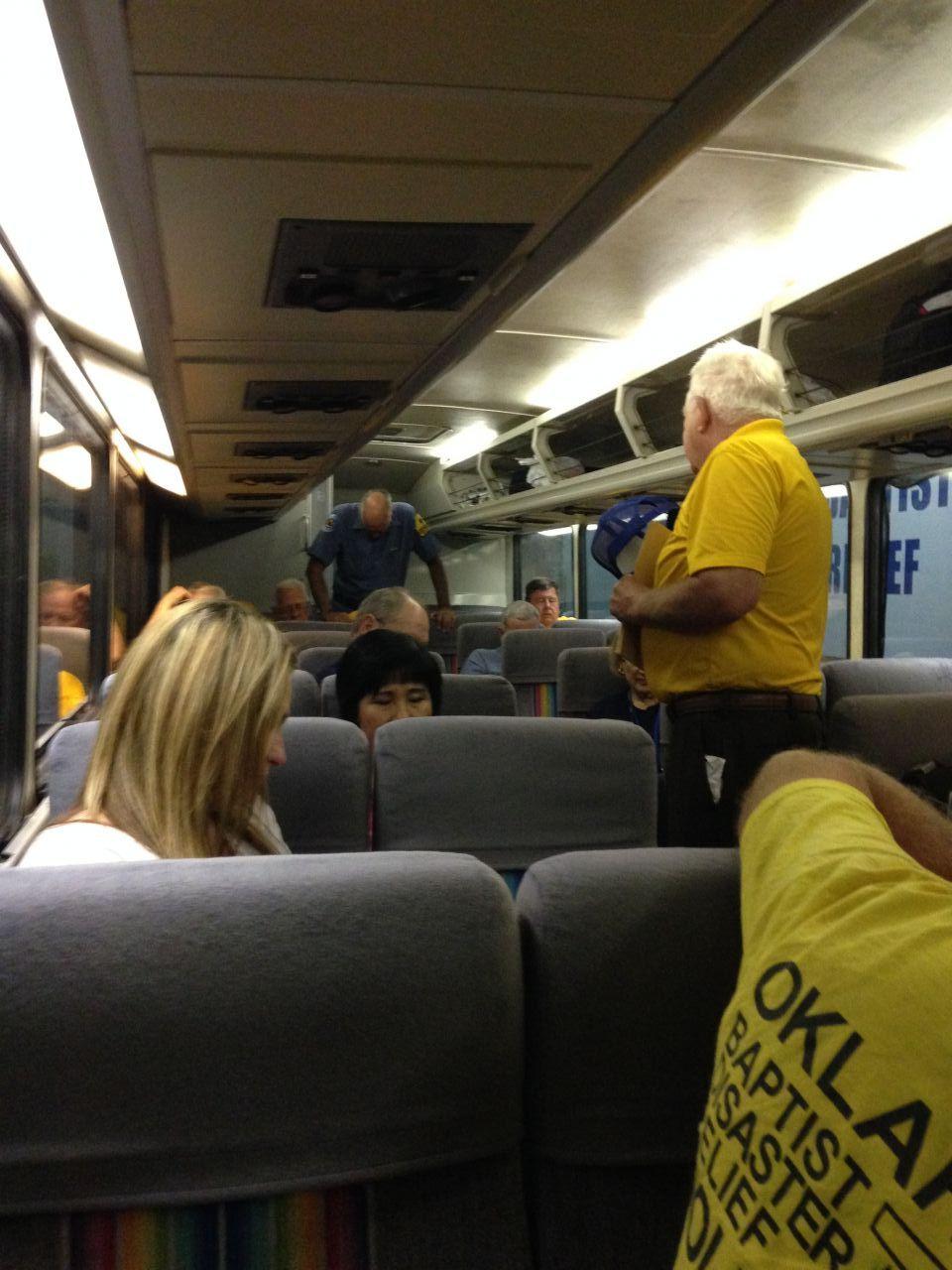 Praying on Bus-BOBNIGH