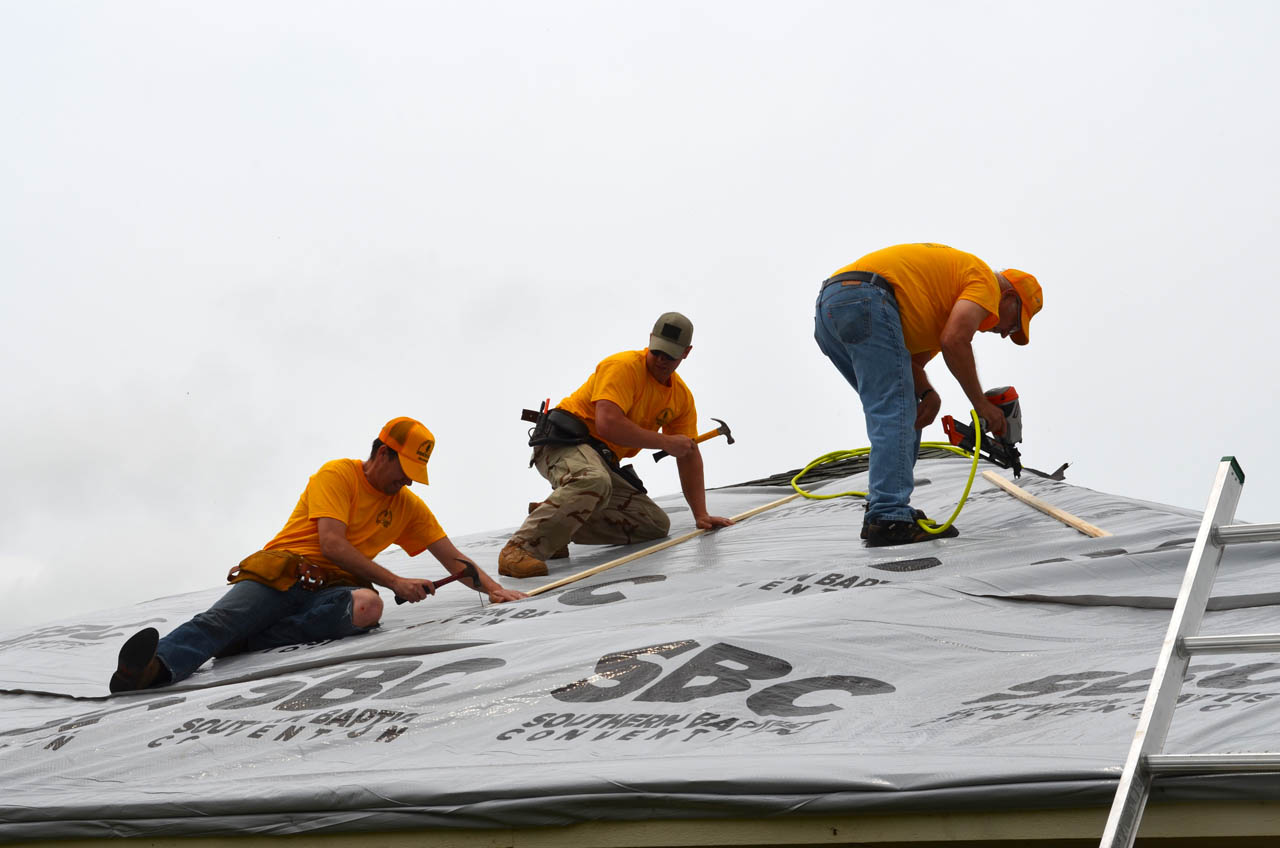Oklahoma Baptists Disaster Relief responding to storm damage in Bridge Creek, other areas