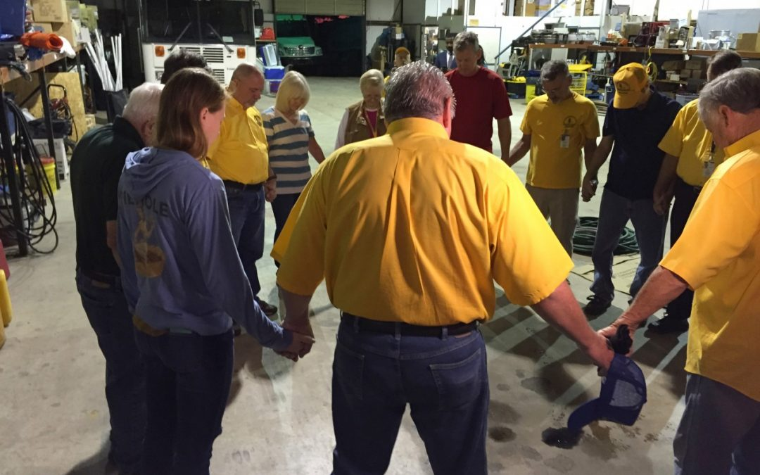 Okla. Baptist Relief Volunteers Head East in Wake of Hurricane Matthew