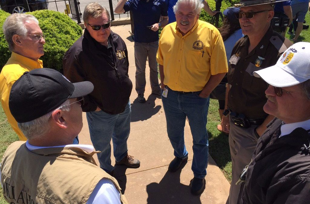 Oklahoma Baptist leaders meet in Elk City, participate in disaster response