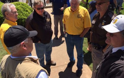 Oklahoma Baptist leaders meet in Elk City, participate in disaster response