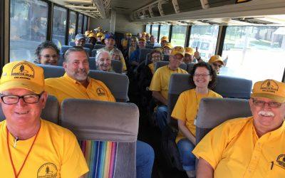 Oklahoma Baptist Disaster Relief feeding unit, volunteers on way to Houston