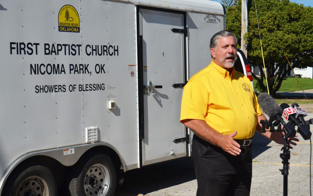 Oklahoma Baptists embark to Texas beginning long-term relief efforts