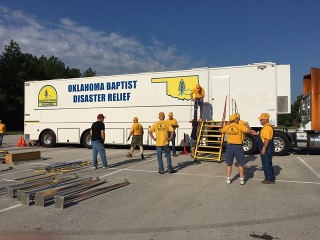 "Oklahoma Baptist ""boots"" on the ground in Houston"