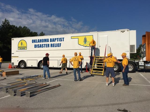 "Oklahoma Baptist ""boots"" on the ground in Houston"