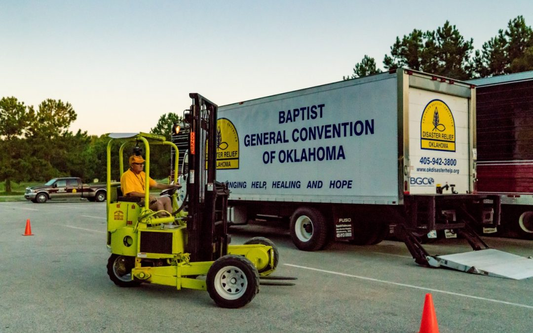 Okla. Baptists reach third week of Hurricane Harvey Disaster Relief efforts