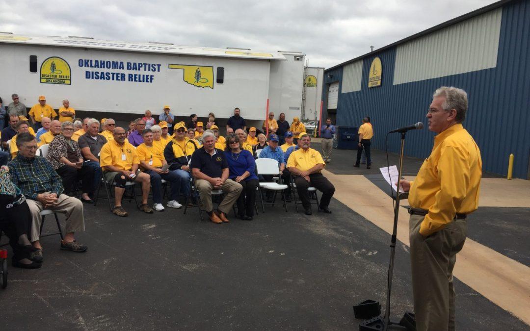 Oklahoma Baptist Disaster Relief dedicates new facility