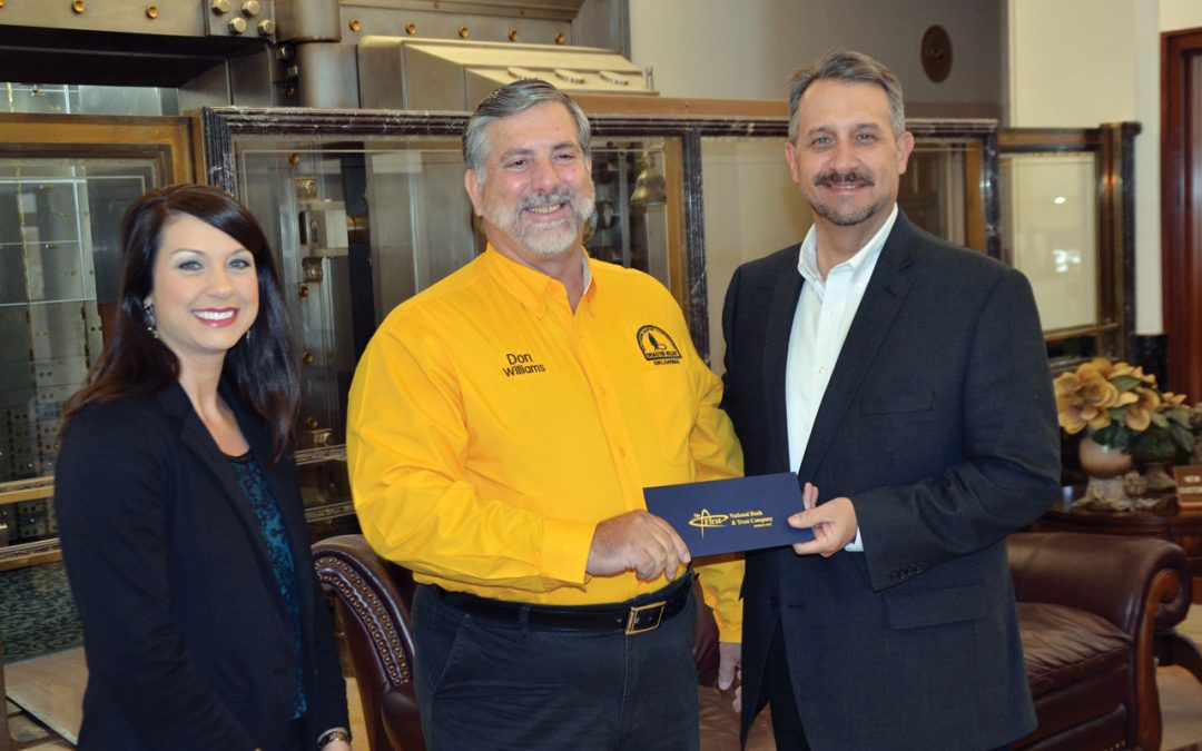 Chickasha bank enables OK Baptist DR to keep serving in Houston