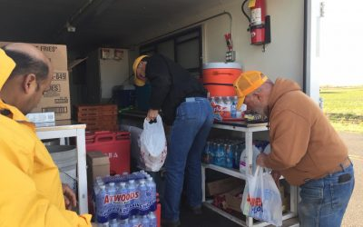 Okla. Baptist Disaster Relief provides aid to those fighting wildfires