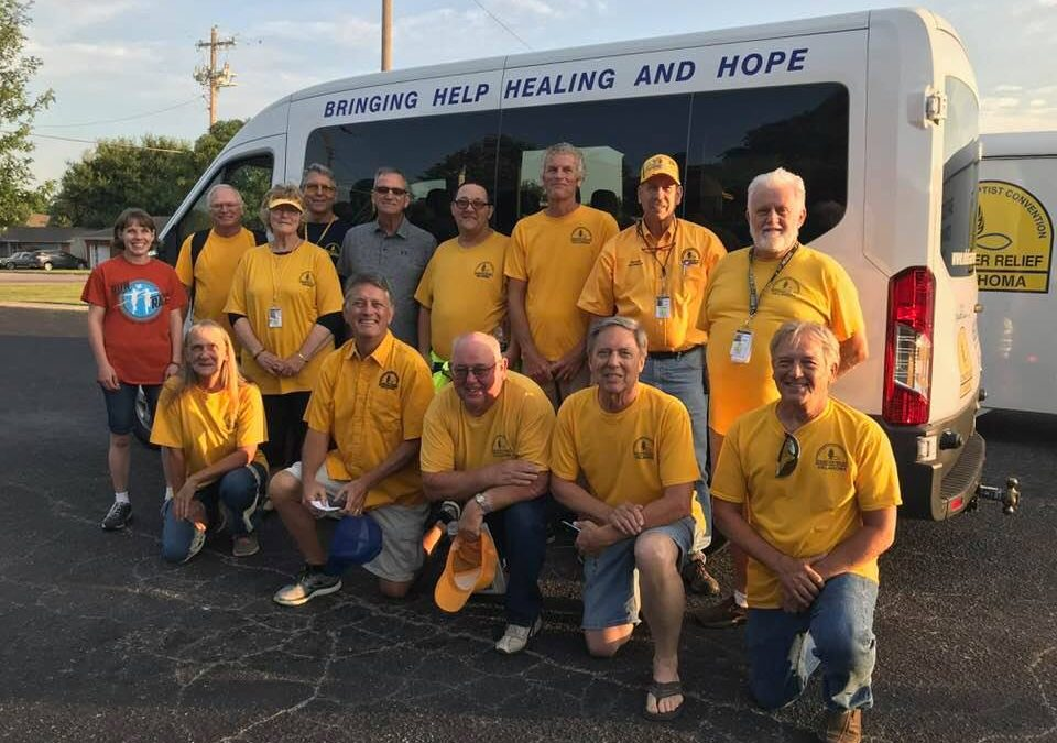 Oklahoma Baptist Disaster Relief serves Connecticut, Puerto Rico, Texas, Oklahoma and Colorado