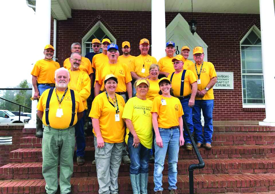 Okla. Baptist Disaster Relief begins work in North Carolina