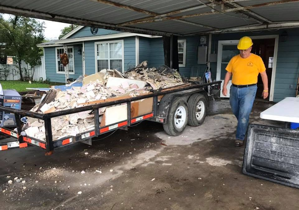Baptist Disaster Relief continues work in Okla., Texas and North  Carolina, on standby for Florida