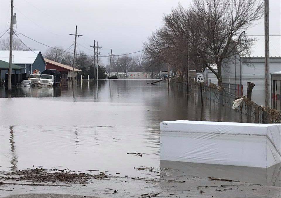 Okla. Baptist Disaster Relief oversees flood recovery efforts in Nebraska