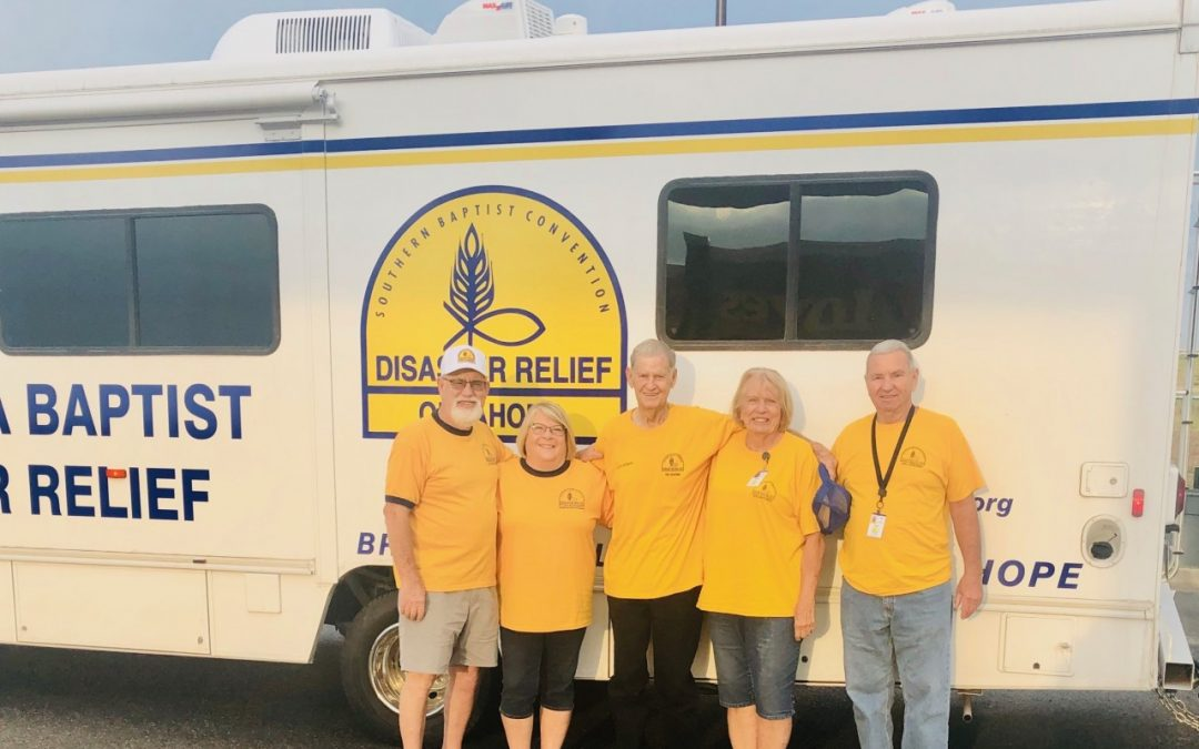 Oklahoma Baptist Disaster Relief called to Louisiana after Hurricane Laura