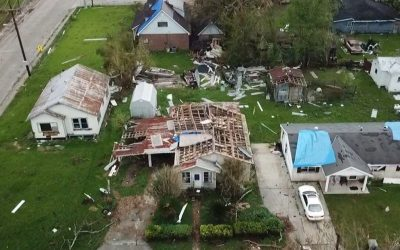 Oklahoma Baptist DR Remains Faithful in Louisiana After Hurricane Ida