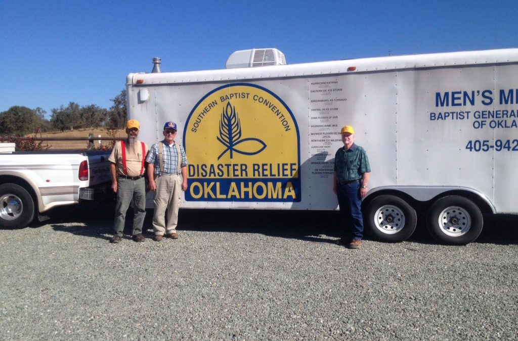Oklahoma Baptist Disaster Relief Volunteers Begin to Serve Amid California Wildfires